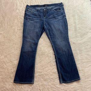 Torrid relaxed bootleg jeans sz 18 plus sz 2x flap